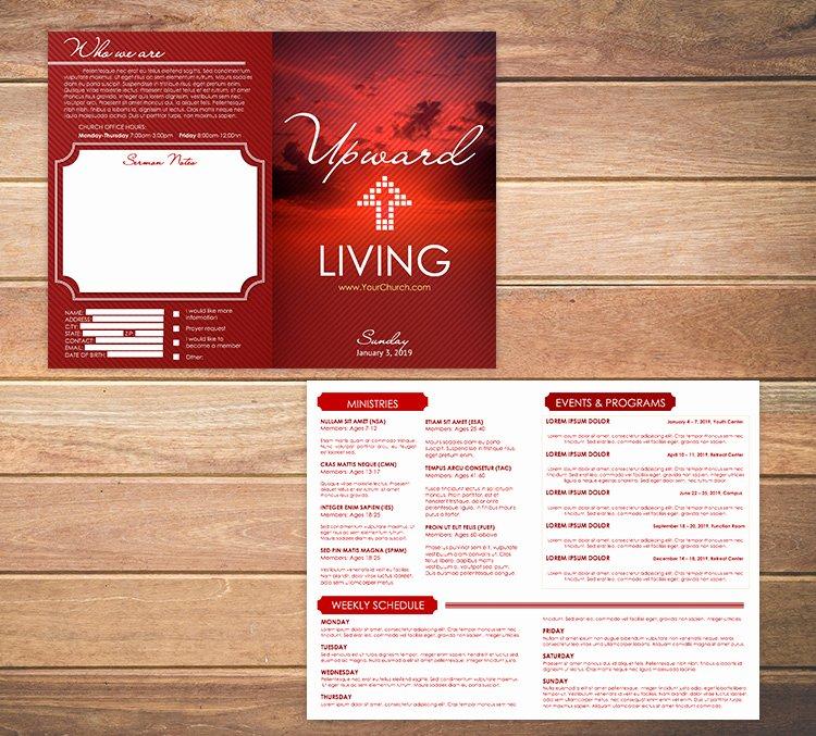 Church Bulletin Templates Free Best Of Free Church Bulletin Templates 8 Professionally Designed
