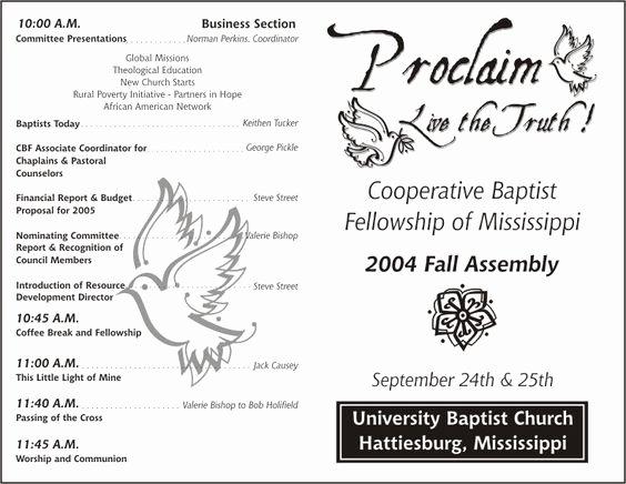 Church Bulletin Templates Free Luxury Church Program Template