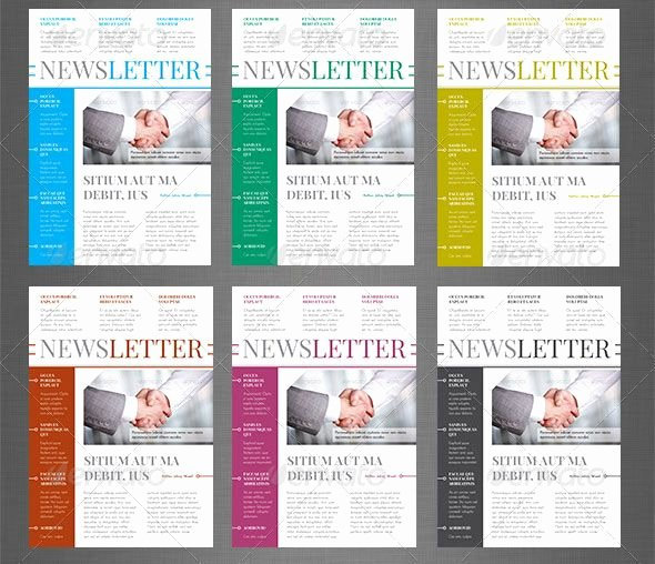 Church Bulletin Templates Indesign Best Of 10 Best Indesign Newsletter Templates
