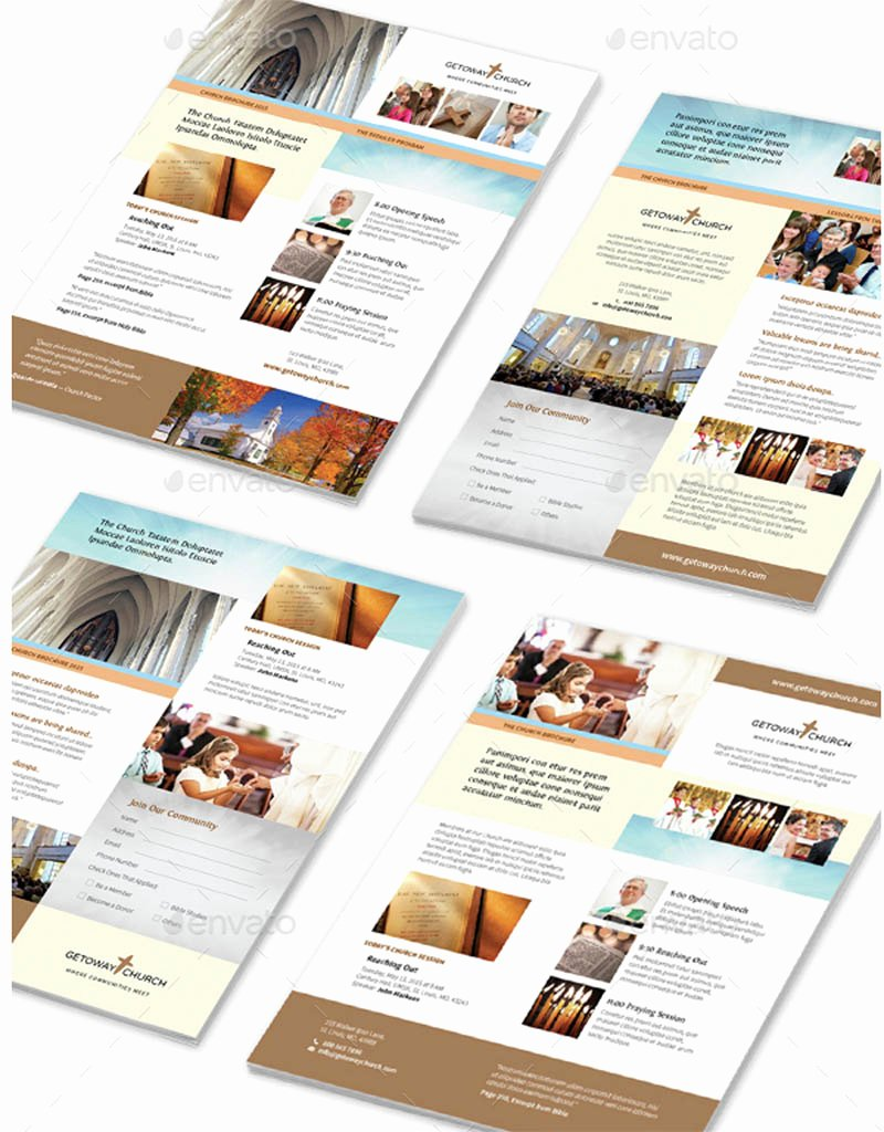 Church Bulletin Templates Indesign Best Of Indesign Flyer Templates top 50 Indd Flyers for 2018