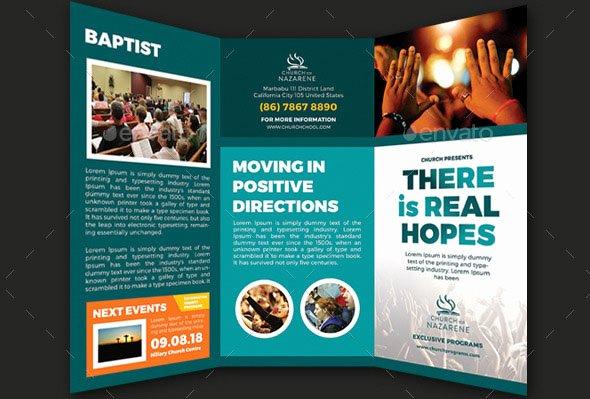 Church Bulletin Templates Indesign Lovely 47 Nice Church Brochure Templates Psd & Indesign