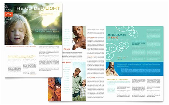 Church Bulletin Templates Indesign Luxury Best Church Newsletter Template 10 Free Sample Example