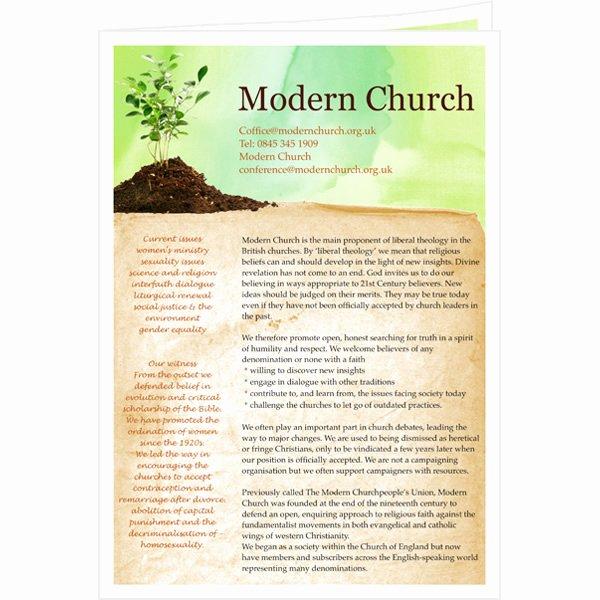 Church Bulletin Templates Microsoft Publisher Lovely Newsletter Templates & Samples