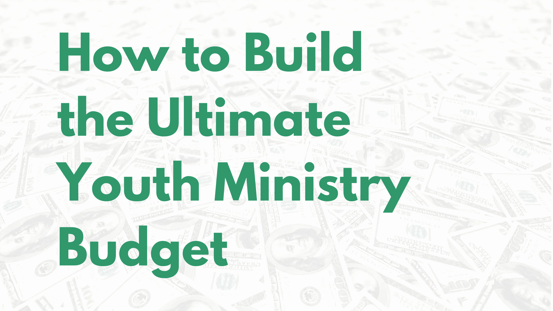 Church Ministry Budget Template Luxury Church Bud Percentage Template Youth Ministry Bud