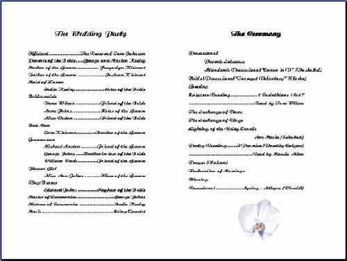 Church Program Template Free Awesome 8 Best Of Free Printable Church Program Design
