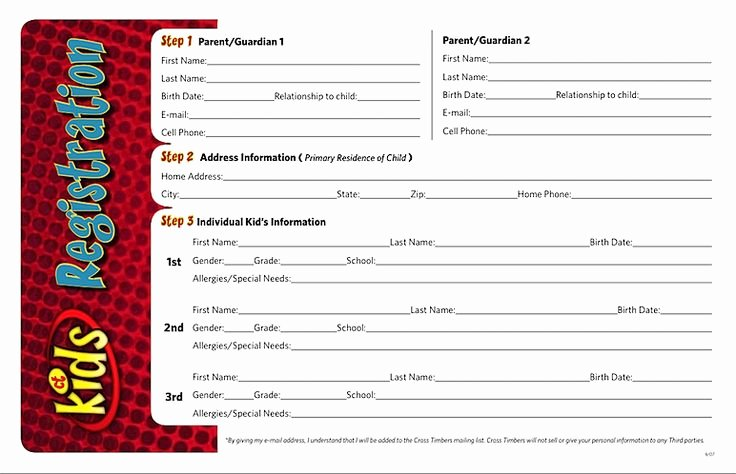 Church Registration form Elegant 25 Best Ideas About Registration form Sample On Pinterest