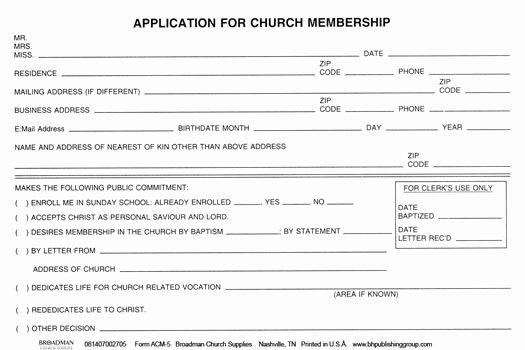 Church Registration form Unique Church Nursery Registration form thenurseries