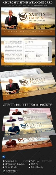 Church Visitor Card Template Word Unique Download This Visitor Card Click the Link Below Church