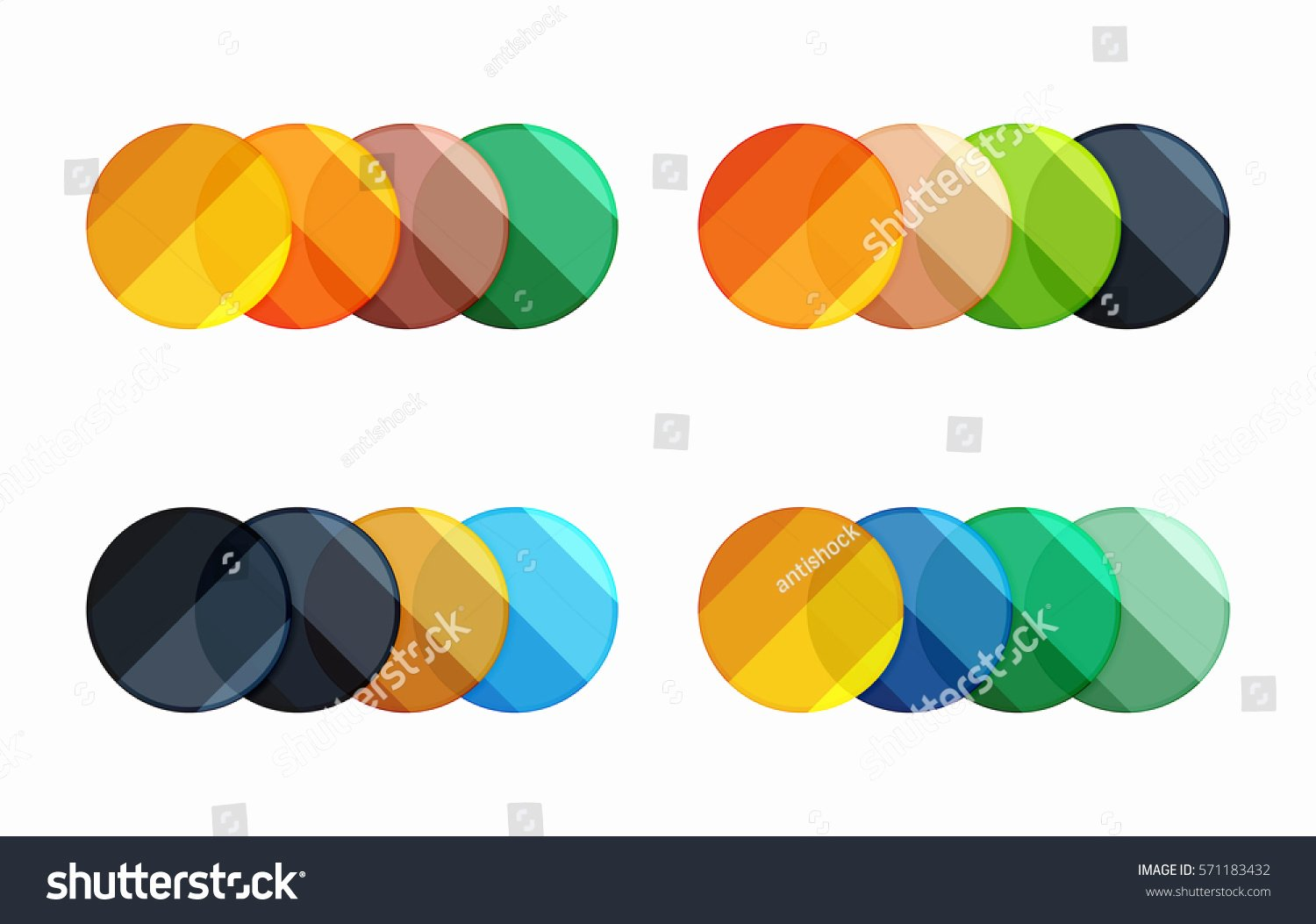 Circle Banner Template Best Of Vector Circle Banners Illustration Abstract Geometric