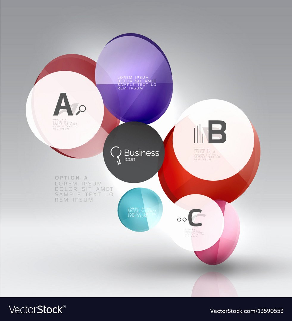 Circle Banner Template Luxury Circle Banner Template Vector by Antishock Image