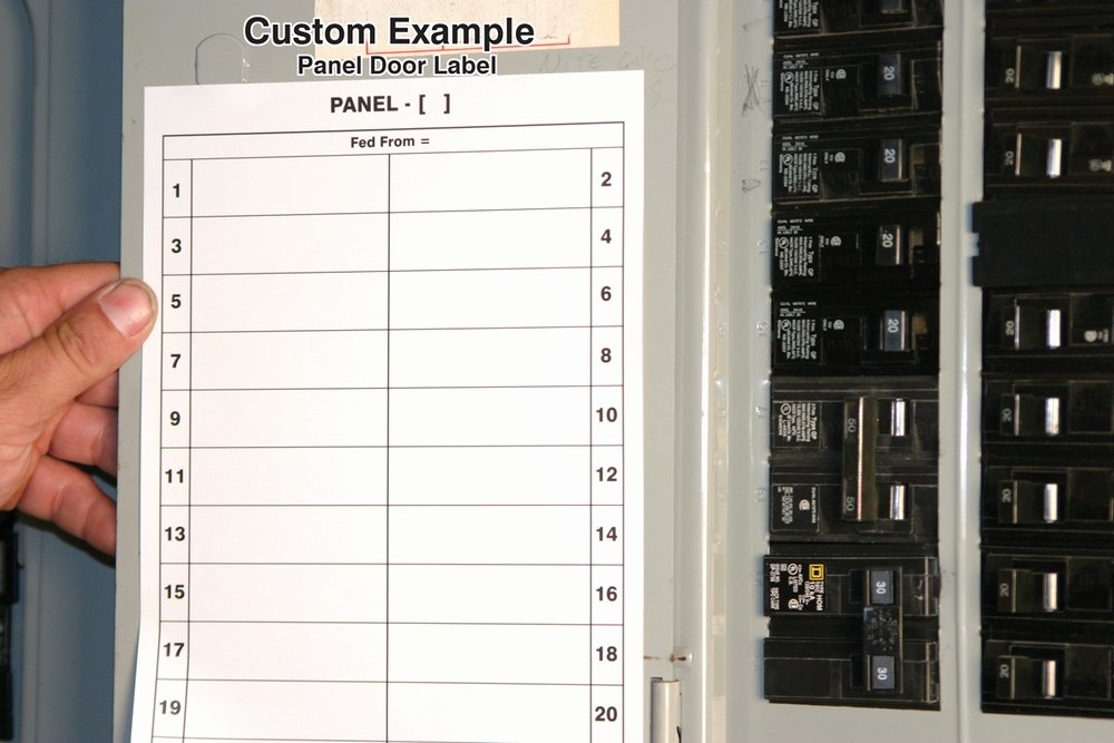 Circuit Breaker Panel Label Template Unique Safety Signs Safety Tags and Safety Labels by Accuform Signs