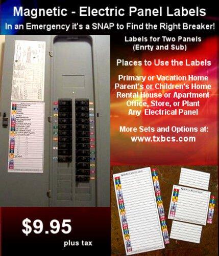 Circuit Breaker Panel Labels Beautiful Circuit Breaker Electrical Fuse Service Panel Labels 30