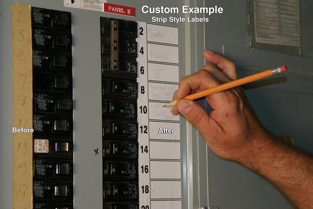 Circuit Breaker Panel Labels Beautiful Safety Signs Safety Tags and Safety Labels by Accuform Signs
