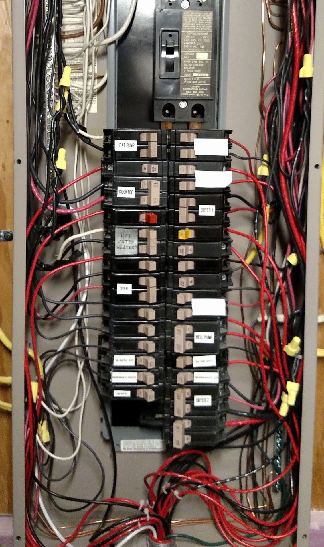 Circuit Breaker Panel Labels Luxury Circuit Breaker Possible Neutral Problem Utility Side