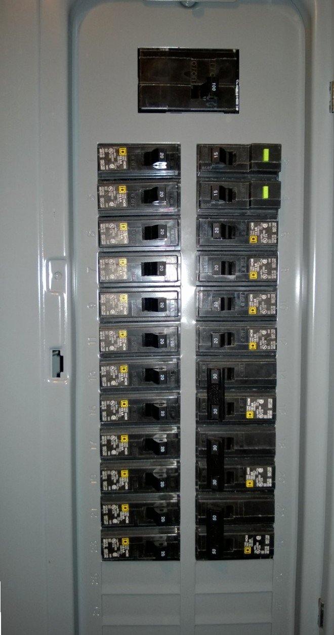 Circuit Breaker Panel Labels New Breaker Box Mapped – orbitted by Nine Dark Moons