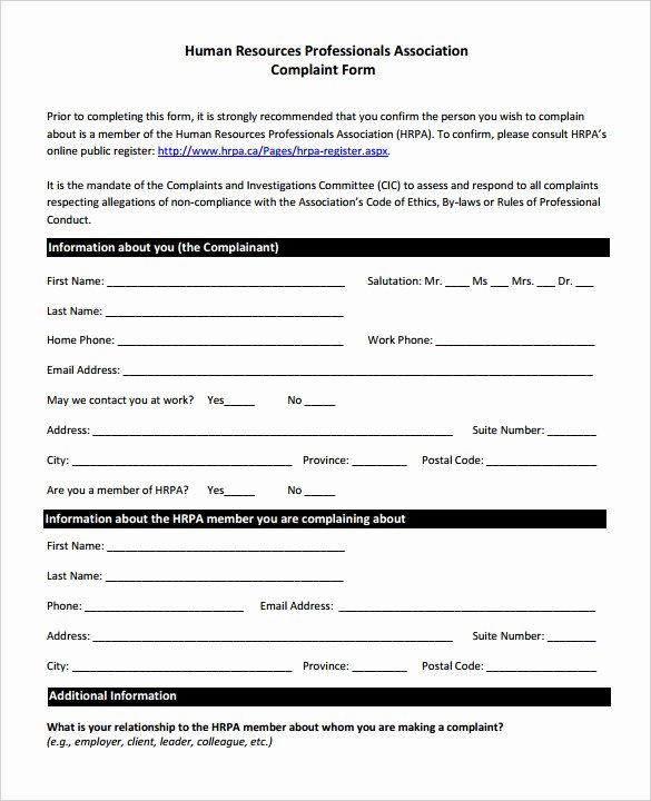 Civil Complaint form Template Lovely S 33 Hr Plaint forms Coloring Page for Kids