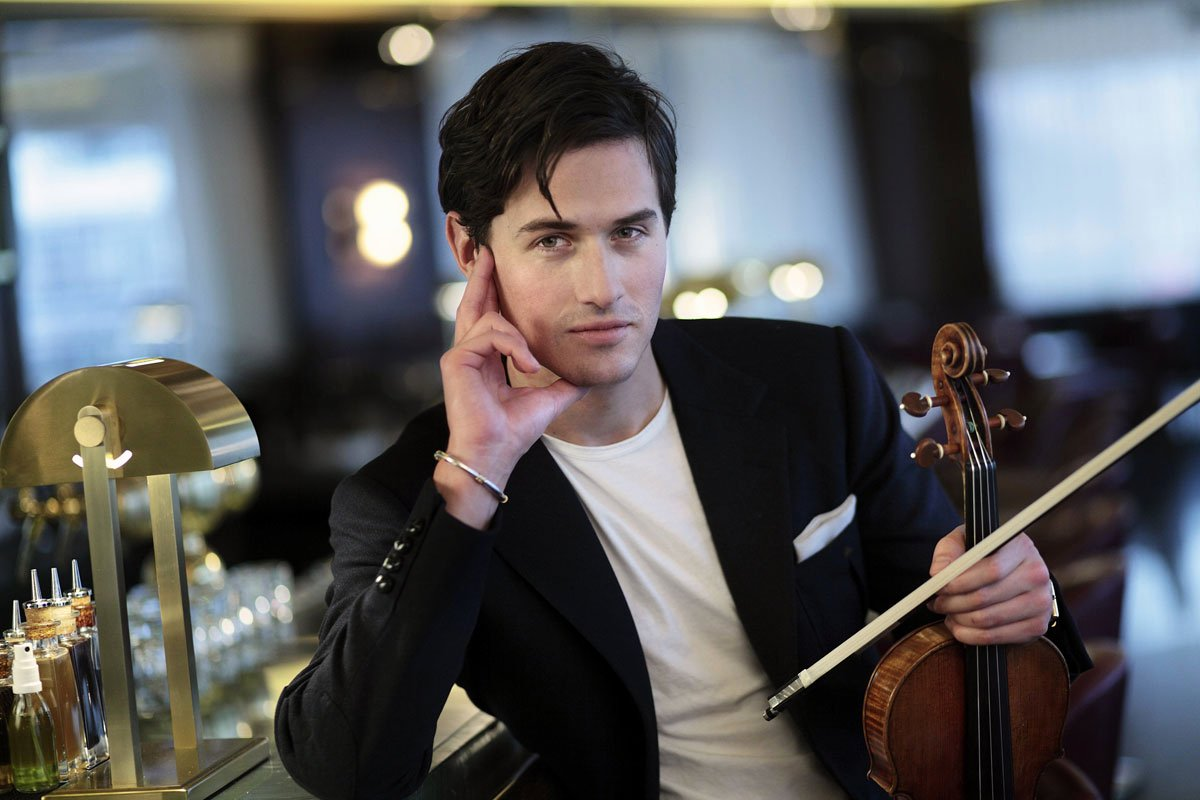 Classical Musician Bio New Meet Violinist Charlie Siem the Mick Jagger Of Classical