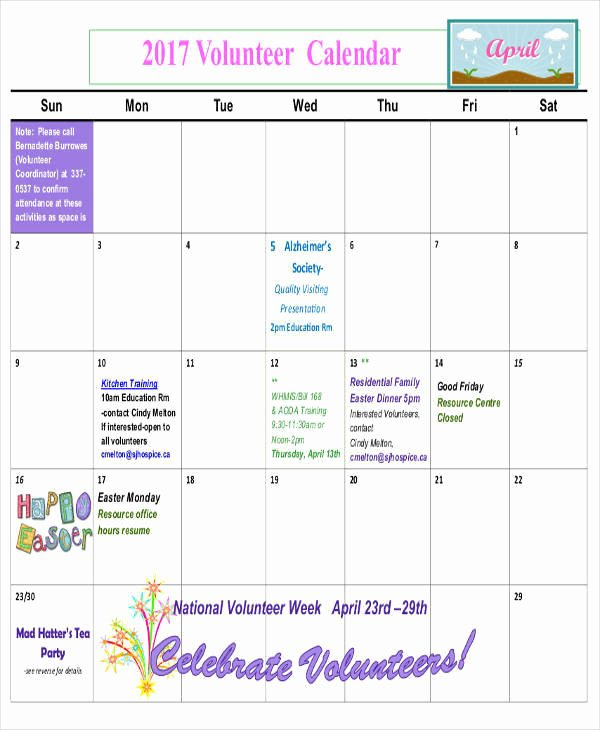 Classroom Calendar Template Awesome 8 Classroom Calendar Templates – Examples In Pdf