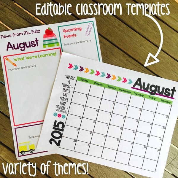 Classroom Calendar Template Beautiful Best 25 Classroom Calendar Ideas On Pinterest