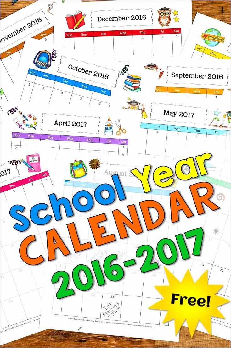 Classroom Calendar Template New 197 Best Back to School Images On Pinterest
