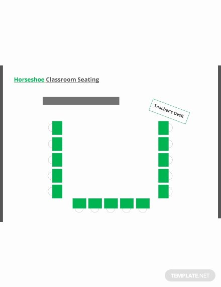 Classroom Seating Chart Template Microsoft Word Fresh Free Horseshoe Classroom Seating Arrangements Template In