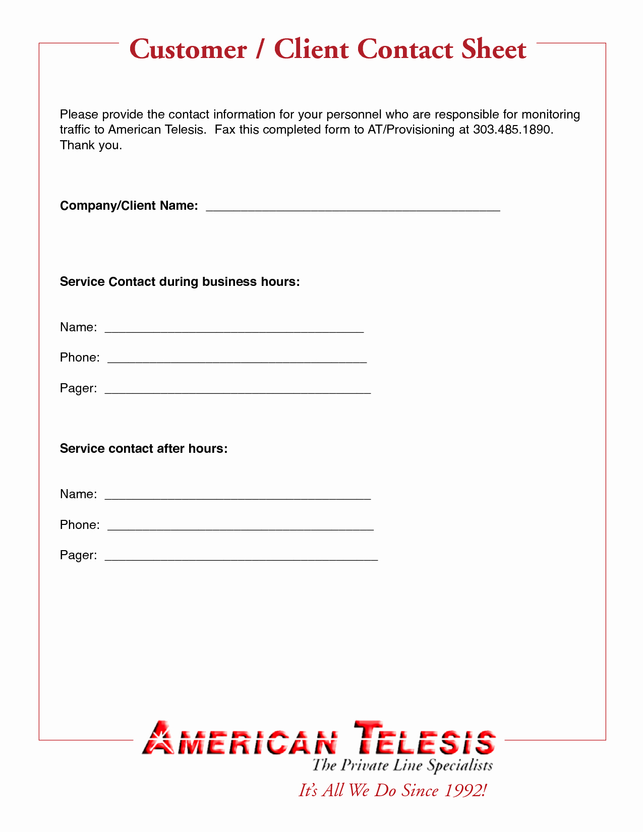 Client Contact form Elegant Best S Of Customer Contact form Template New