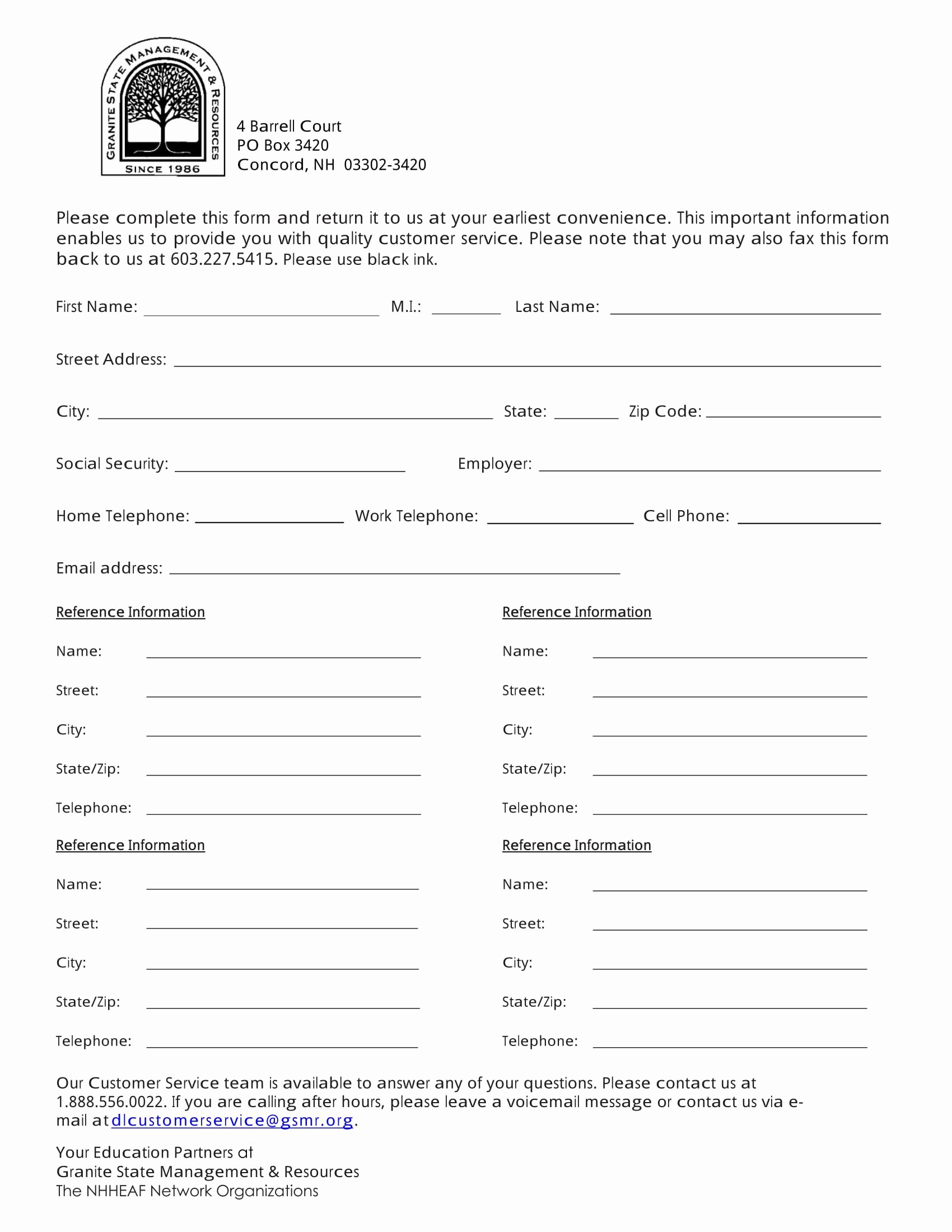 Client Contact form New 13 Contact Information forms Free Word Pdf format