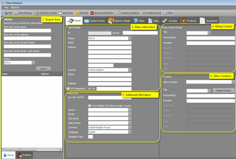 Client Database Template Unique 3 Excel Client Database Templates Excel Xlts
