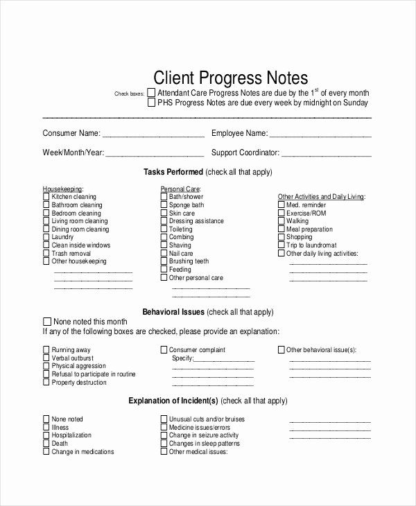 Client Notes Template Lovely 24 Note Examples & Samples In Pdf