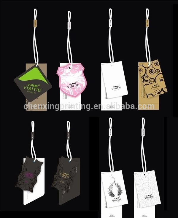 Clothing Hang Tag Template Awesome Free Sample Printable Luggage Tag Template Baby Show Goods