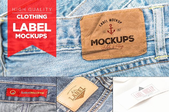 Clothing Label Template Luxury 100 Amazing Free Realistic Label Mockups