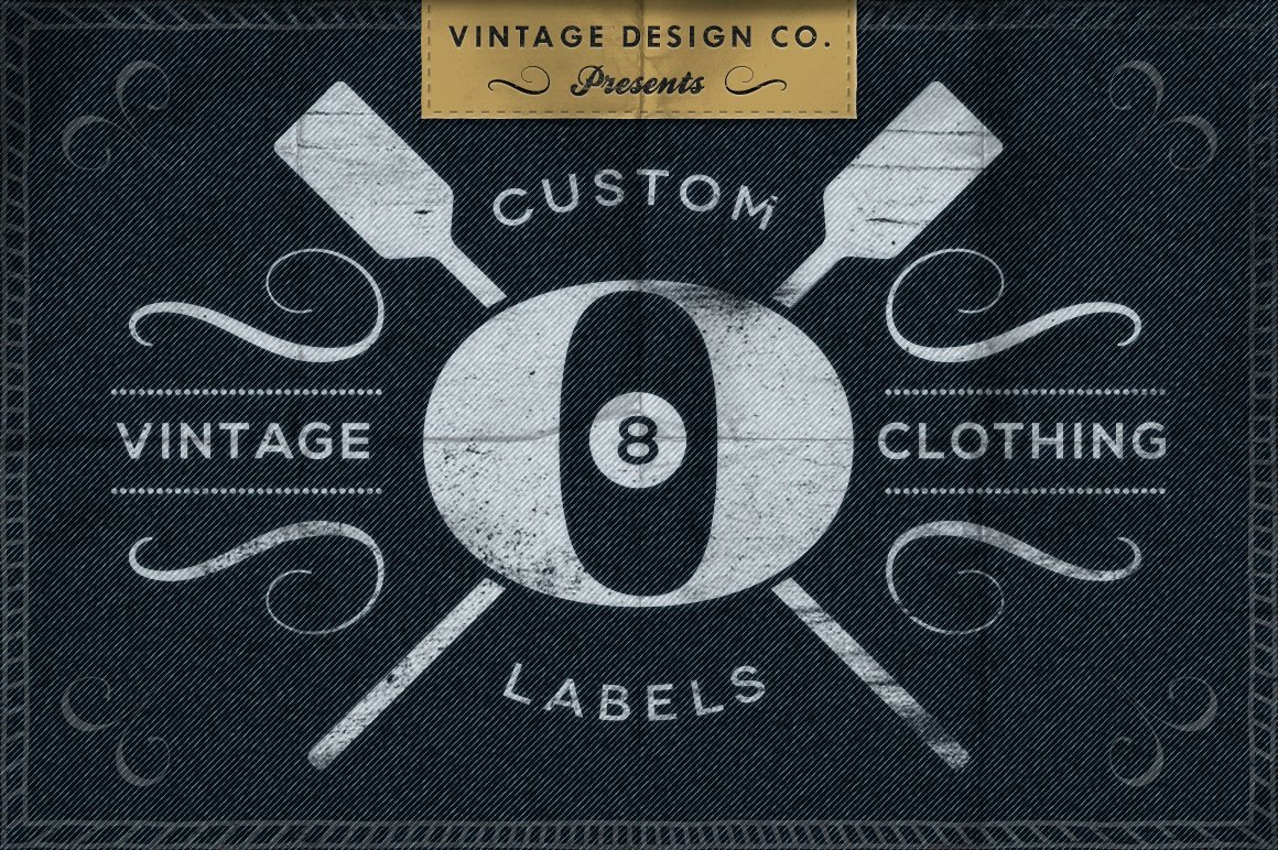 Clothing Label Template Unique Custom Vintage Clothing Labels Logo Templates Creative