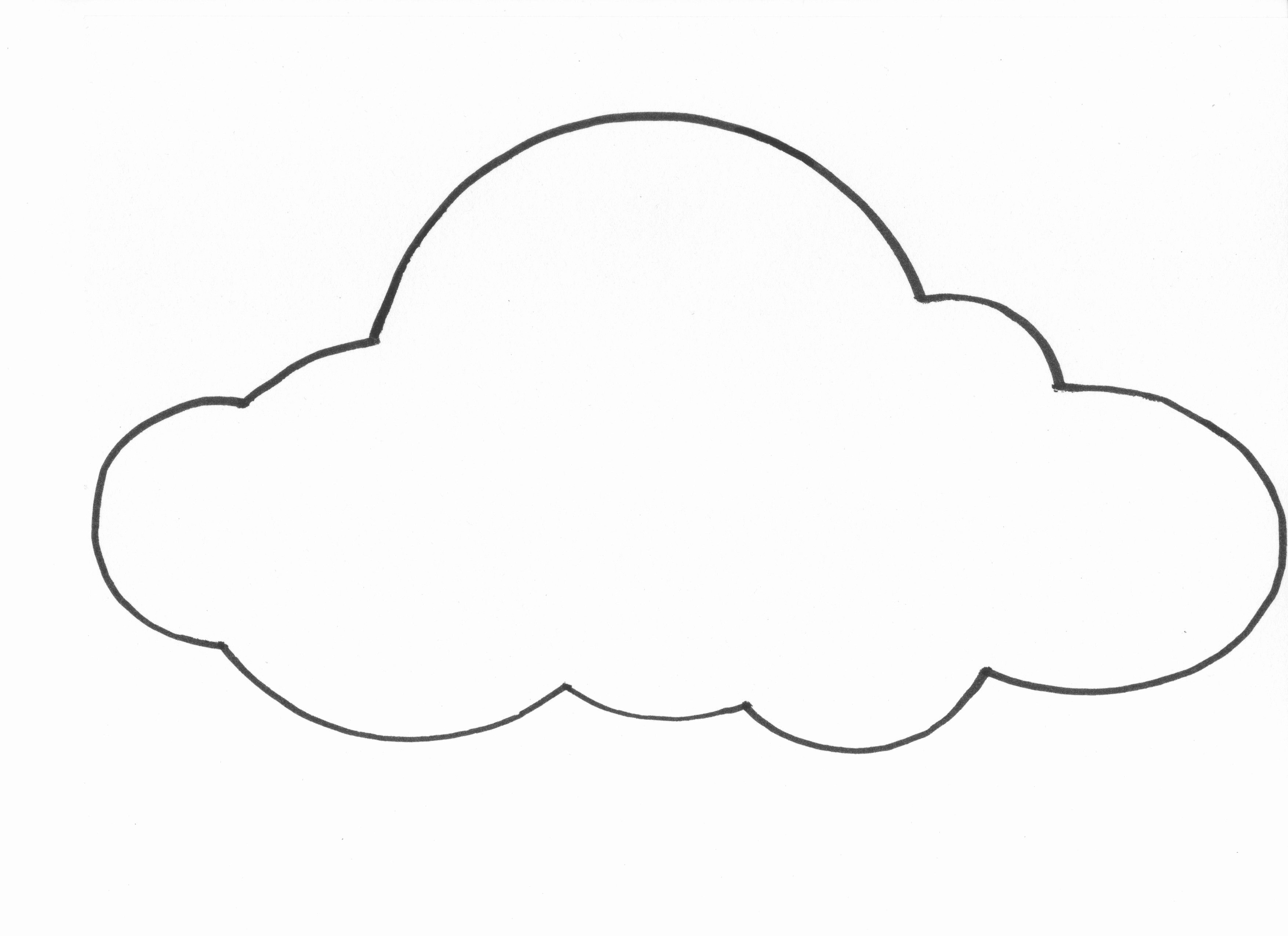 Cloud Template Printable Best Of Diy Paper Cloud Mobile Tutorial Diy Echo