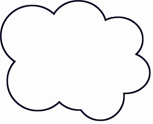 Cloud Template Printable New Diy Paper Cloud Mobile Tutorial