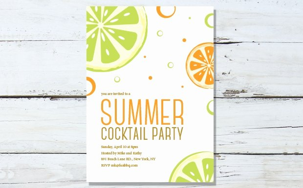 Cocktail Party Invite Templates Best Of 20 Pool Party Invitation Designs Psd Ai Eps Word