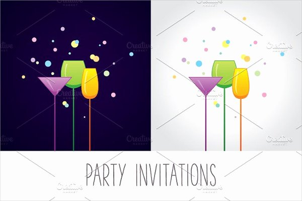 Cocktail Party Invite Templates New 9 Cocktail Party Invitations Psd Eps or Ai format