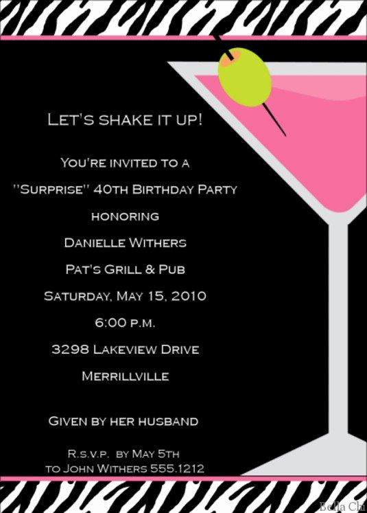 Cocktail Party Invite Templates Unique Cocktail Party Invitations Templates are Available Line