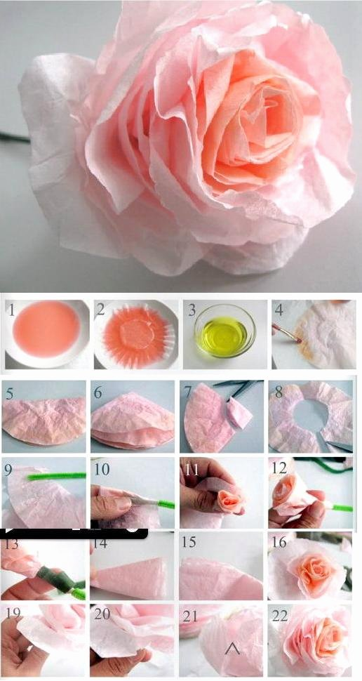 Coffee Filter Flowers Martha Stewart Fresh Coffee Filter Craft Ideas the Idea Room