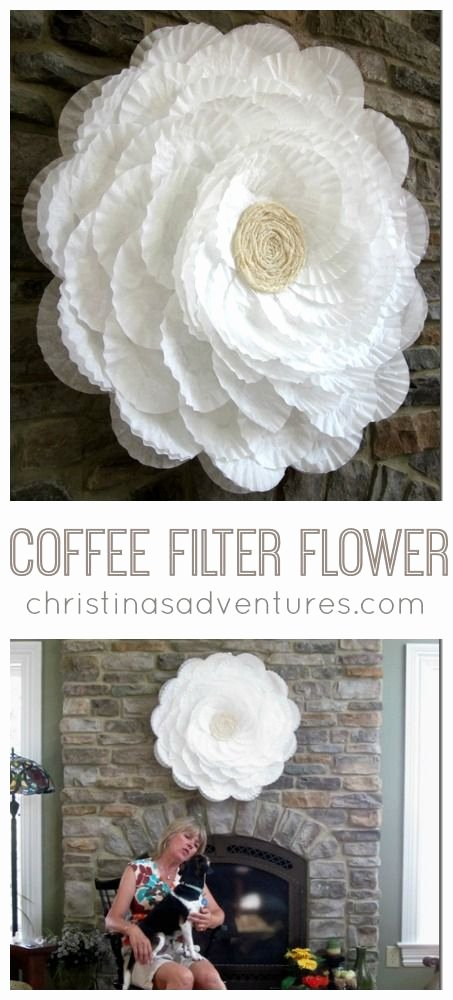 Coffee Filter Flowers Martha Stewart Inspirational Best 25 Coffee Filter Crafts Ideas On Pinterest