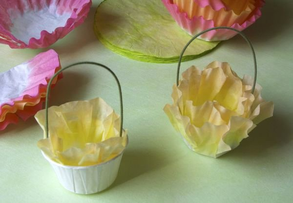 Coffee Filter Flowers Martha Stewart Lovely Coffee Filter Flower & Carrot Easter Favors Urban fort