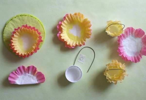 Coffee Filter Flowers Martha Stewart Luxury Coffee Filter Flower & Carrot Easter Favors Urban fort
