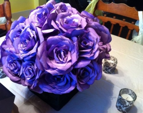 Coffee Filter Roses Template Best Of Coffee Filter Flower Centrepieces