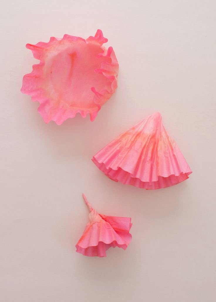 Coffee Filter Roses Template Inspirational 95 Best Images About Coffee Filter Ideas On Pinterest