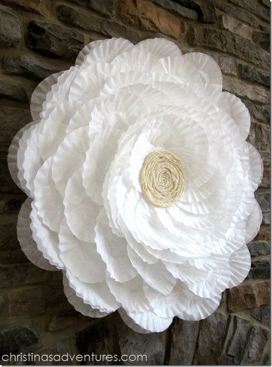 Coffee Filter Roses Template Luxury 25 Paper Flower Crafts
