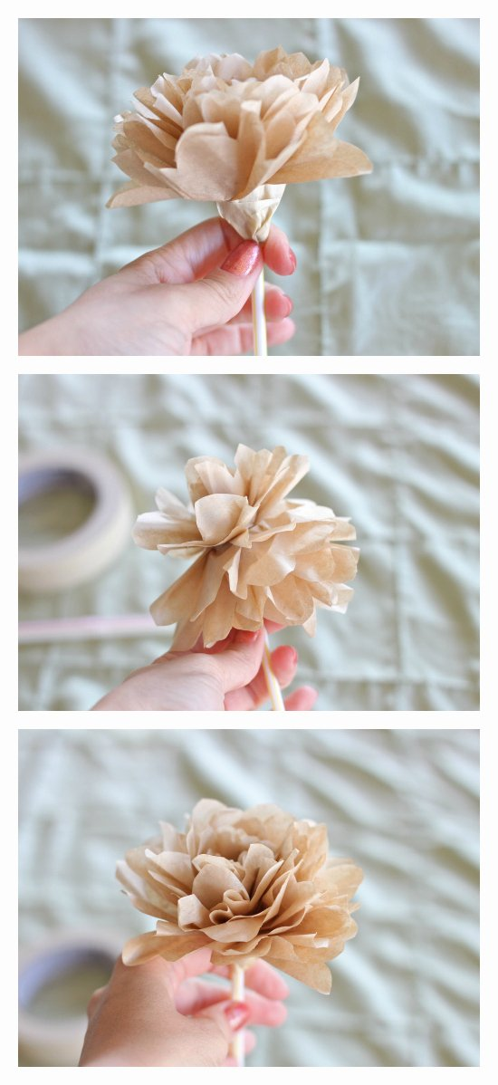 Coffee Filter Roses Template New Diy Coffee Filter Rose Tutorial