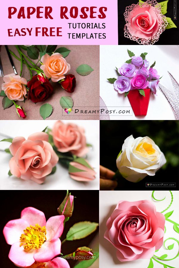 Coffee Filter Roses Template New Easy Tutorial to Make A Paper Rose Free Template