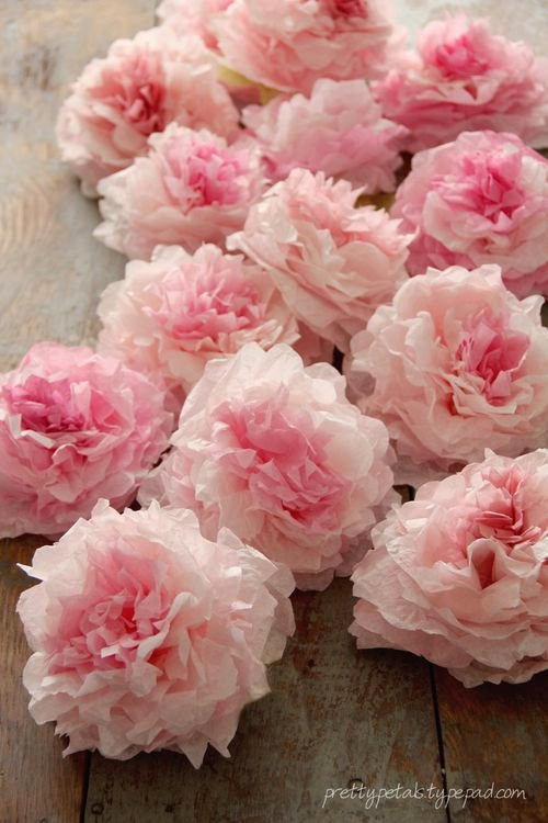 Coffee Filter Roses Template New Peony Coffee Filter Flowers Tutorial Pretty Petals