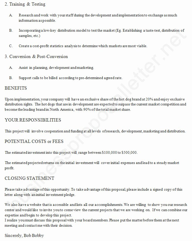 Collaboration Proposal Sample Inspirational 20 Business Collaboration Proposal Letter Sample