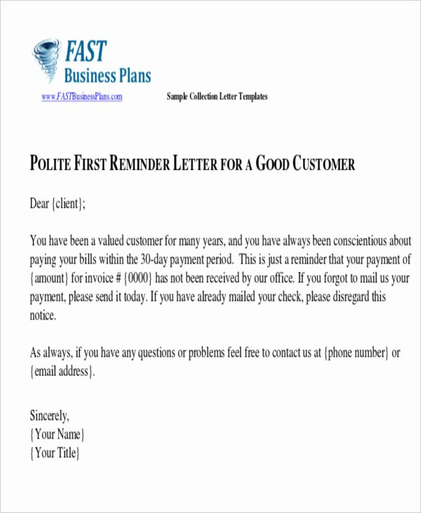 Collection Letter Final Notice New 43 Collection Letter Examples Google Docs Ms Word