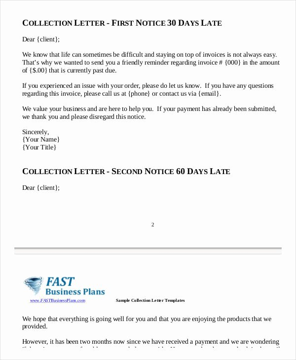 Collection Letter Template Final Notice Beautiful 9 Collection Letter Samples Google Docs Ms Word